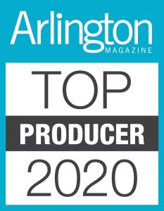 Renata Briggman Top Producer Arlington Magazine 2020